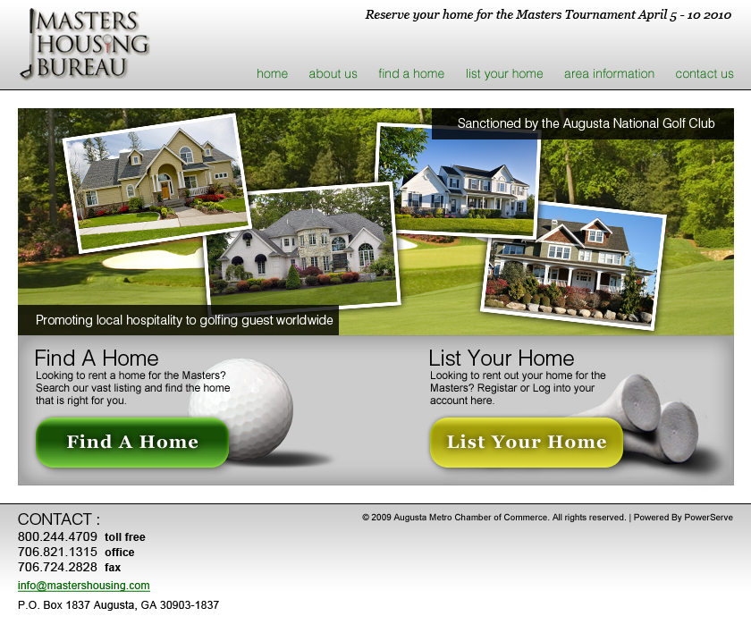 Masters Housing